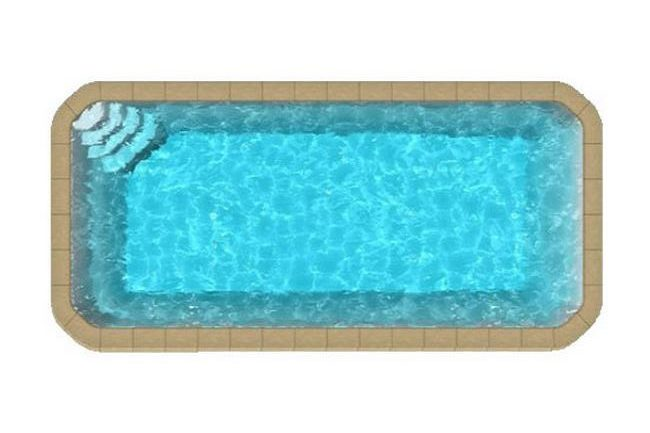big pool confort Copier 2 650x433 - Rectangulaire fond plat