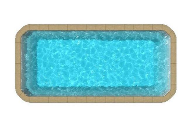 big pool evasion a logo Copier 2 650x433 - Rectangulaire fond plat