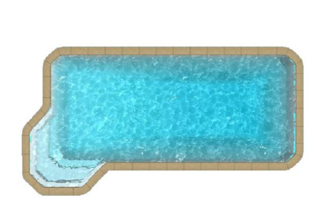 mega pool privilege logo 650x433 - Forme libre fond incliné